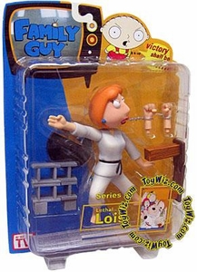 Family Guy Mezco Series 4 Action Figure Lethal Lois [Black Belt]