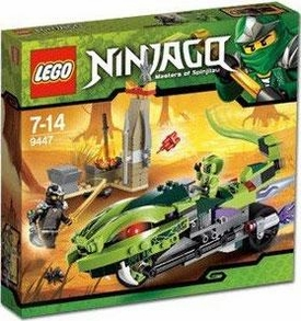 LEGO Ninjago Set #9447 Lasha's Bite Cycle