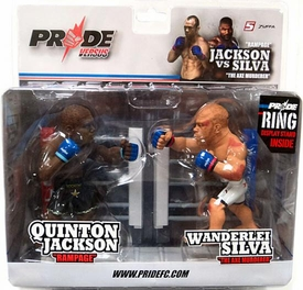 Round 5 UFC / PRIDE Versus Series 1 SPECIAL EDITION Action Figure 2-Pack Quinton Rampage Jackson Vs. Wanderlei Silva BLOWOUT SALE! Only 3,000 Made!