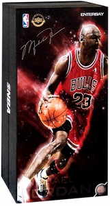 Enterbay Real Masterpiece 1/6 Collectible Figure Michael Jordan [#23 Red Uniform Road Edition]