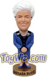 Bosley Bobber Bobbing Head Dolls Barbara Bush