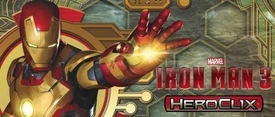 Iron Man 3 Heroclix Mini Game [4 Figures] Pre-Order ships March