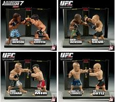 Round 5 UFC Versus Series 1 Set of 4 Action Figure 2-Packs