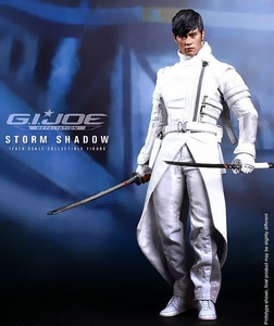 GI Joe Retaliation Hot Toys Movie Masterpiece 12 Inch Figure Storm Shadow