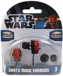 Star Wars Earbuds Darth Maul