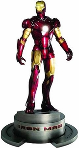 Iron Man Movie Kotobukiya 1/6 Scale Fine Art Statue Iron Man Mark III Damaged Box!