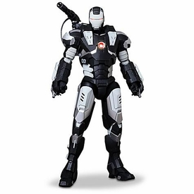 Iron Man 2 Hot Toys Movie 1/6 Scale Special Edition Collectible Figure War Machine [Black & White]