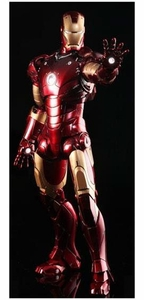 Iron Man Hot Toys Movie 1/6 Scale Collectible Figure Iron Man Mark III [Battle Damaged]