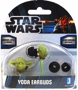 Star Wars Earbuds Yoda