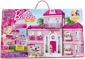 Barbie Mega Bloks Set #80229 Luxury Mansion