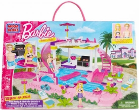 Barbie Mega Bloks Set #80228 Pool Party