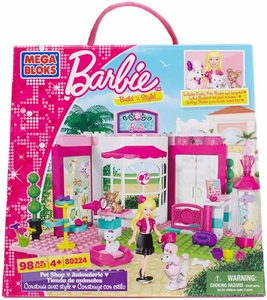 Barbie Mega Bloks Set #80224 Pet Shop