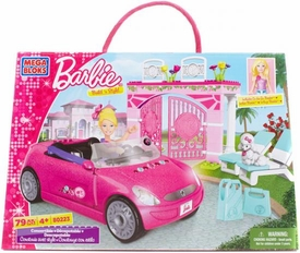 Barbie Mega Bloks Set #80223 Convertible