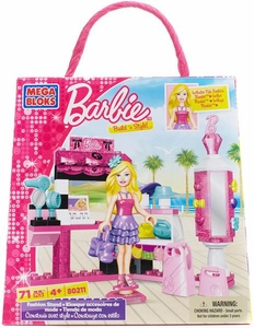 Barbie Mega Bloks Set #80211 Fashion Stand