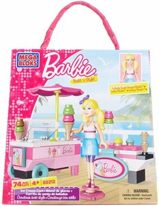 Barbie Mega Bloks Set #80212 Ice Cream Cart