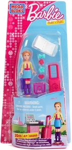 Barbie Mega Bloks Set #80203 Vacation Time Summer