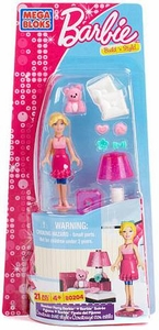 Barbie Mega Bloks Set #80204 Slumber Party Barbie