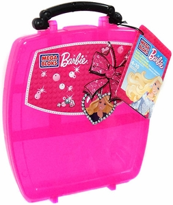 Barbie Mega Bloks Set #80243 Build 'n Store Case