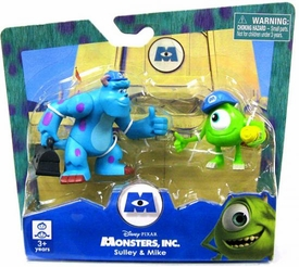 Disney Monsters Inc. 2 Inch Mini Figure 2-Pack Sully & Mike