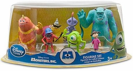 Disney / Pixar MONSTERS INC. Movie Exclusive 7 Piece Deluxe PVC Figurine Set