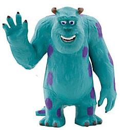 Disney / Pixar MONSTERS INC. Exclusive 4 Inch PVC Figure Sulley
