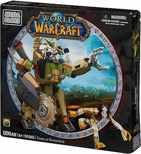World of Warcraft Mega Bloks Set #91045 Goblin Shredder