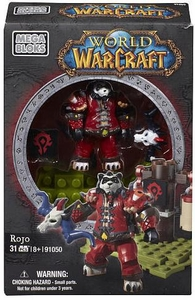 World of Warcraft Mega Bloks Set #91050 Rojo Pre-Order ships March