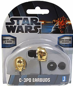 Star Wars Earbuds C-3PO