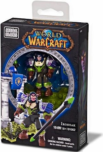 World of Warcraft Mega Bloks Set #91002 Ironoak [Night Elf Hunter Faction Pack]