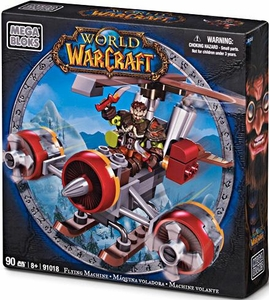 World of Warcraft Mega Bloks Set #91018 Flying Machine