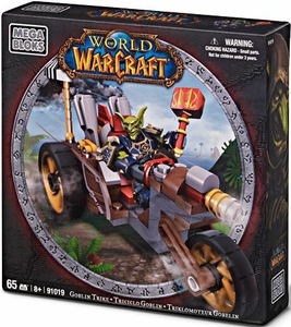World of Warcraft Mega Bloks Set #91019 Goblin Trike