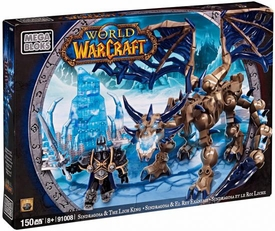 World of Warcraft Mega Bloks Set #91008 Sindragosa & Lich King