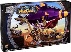 World of Warcraft Mega Bloks Set #91014 Goblin Zeppelin Ambush
