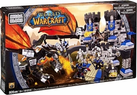 World of Warcraft Mega Bloks Set #91016 Deathwing's Stormwind Assault