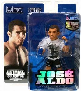 Round 5 UFC Ultimate Collector Series 8 LIMITED EDITION Action Figure Jose Aldo [WEC] Only 750 Made!
