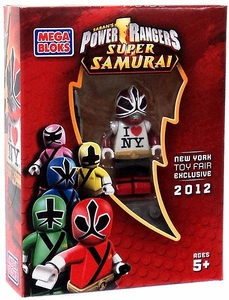 Power Rangers Super Samurai Mega Bloks New York Toy Fair 2012 Exclusive Mini Figure Red Ranger