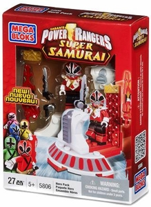 Power Rangers Super Samurai Mega Bloks Set #5806 Red Ranger Hero Pack