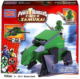Power Rangers Samurai Mega Bloks Set #5818 BearZord [Green]