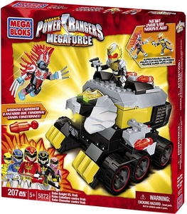 Power Rangers Megaforce Mega Bloks Set #5872 Robo Knight Vs Vrak