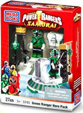 Power Rangers Samurai Mega Bloks Set #5743 Green Hero Pack