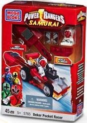 Power Rangers Samurai Mega Bloks Set #5765 Deker Motor Head