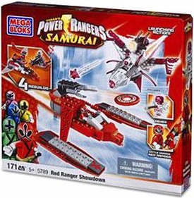 Power Rangers Samurai Mega Bloks Set #5789 Red Ranger Showdown [Red Ranger vs. Deker]