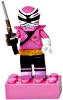 Power Rangers Samurai Mega Bloks LOOSE Mini Figure Mega Mode Pink Ranger