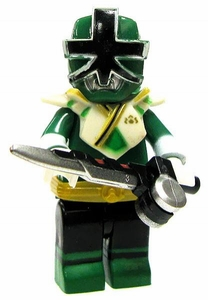 Power Rangers Super Samurai Mega Bloks LOOSE Mini Figure Green Ranger Super Mega Mode