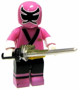Power Rangers Super Samurai Mega Bloks LOOSE Mini Figure Samurai Pink Ranger