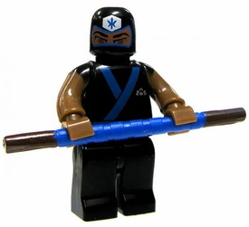 Power Rangers Super Samurai Mega Bloks LOOSE Mini Figure Blue Ranger Training Mode BLOWOUT SALE!