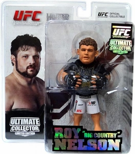 Round 5 UFC Ultimate Collector Series 8 LIMITED EDITION Action Figure Roy Nelson Only 750 Made!