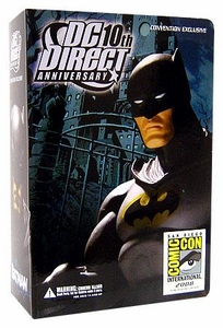 Batman DC Direct 10th Anniversary 2008 SDCC San Diego Comic-Con Exclusive Action Figure Batman Only 6,000 Made!