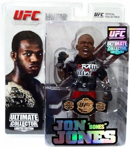 Round 5 UFC Ultimate Collector Series 8 LIMITED EDITION Action Figure Jon Jones [Includes Championship Belt!] Only 1,500 Made!