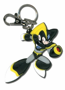 Mega Man 10 Cartoon Style Keychain Bass